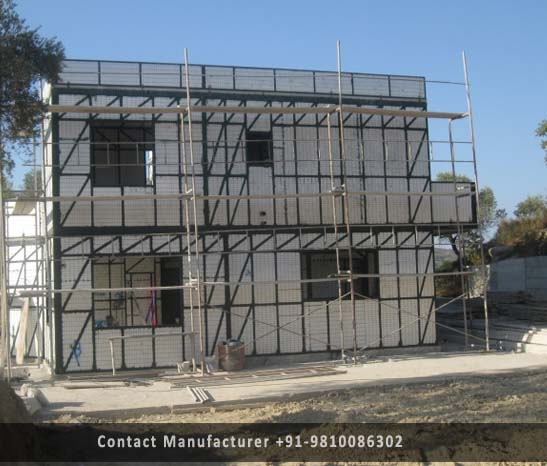 double storey structure