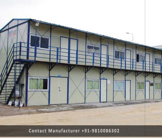 prefabricated g+1 building