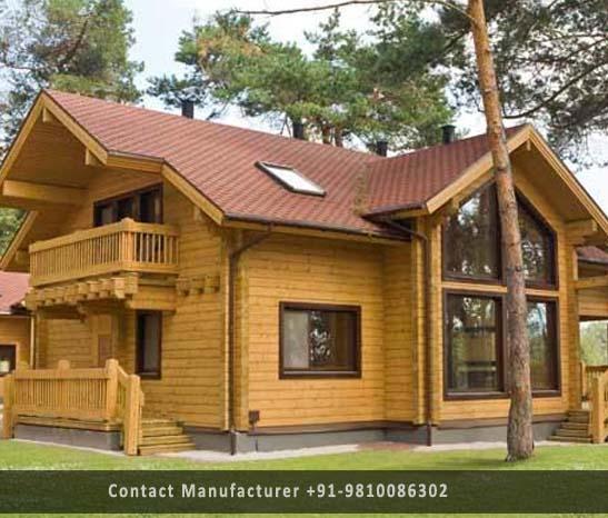 Wooden Houses Manufacturer In Delhi